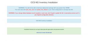 Установка OCS Inventory на CentOS 7